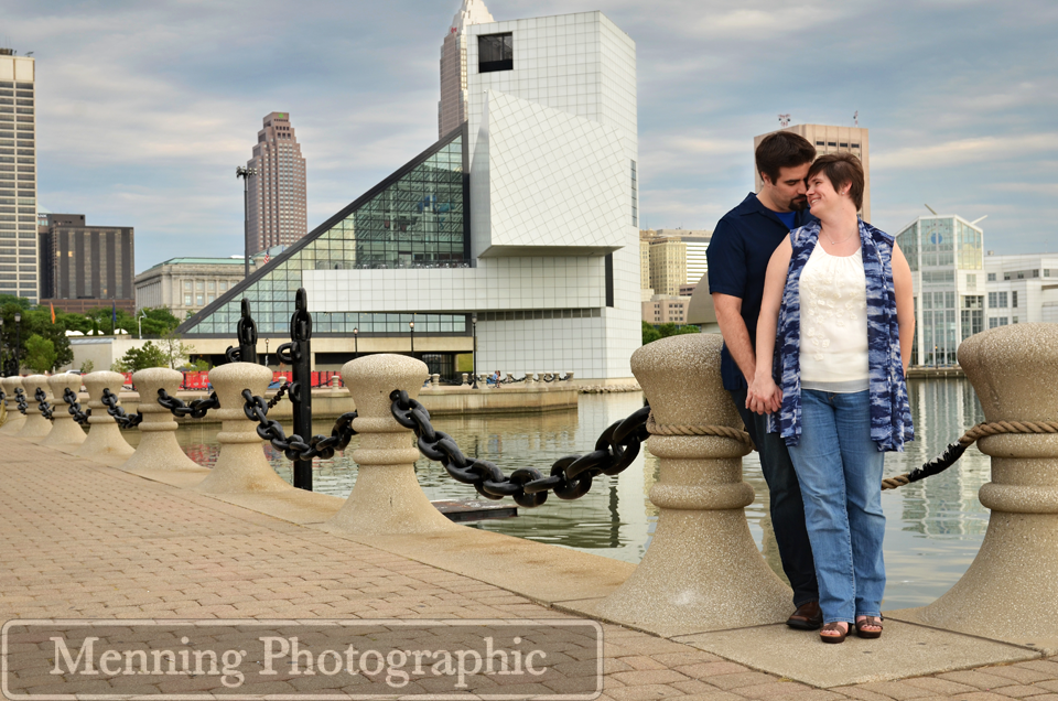 Lisa & Jim Cleveland, OH Engagement Photography