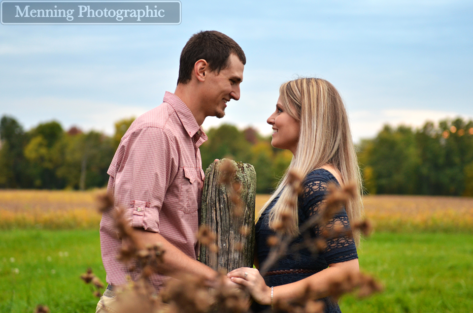 country engagement photos Salem OH