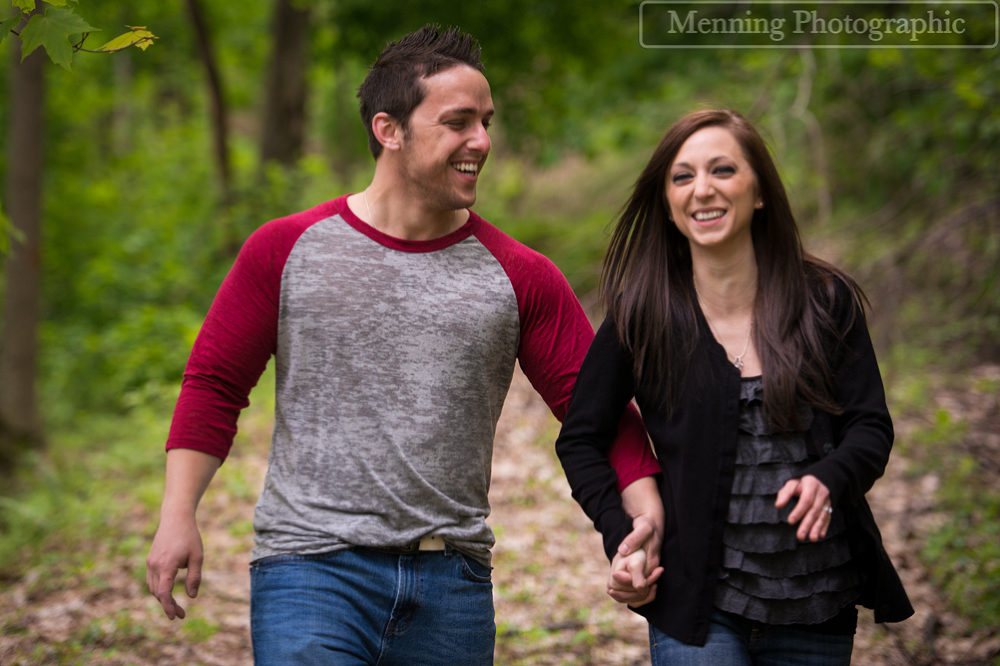 Hacker Valley, WV Engagement Photography