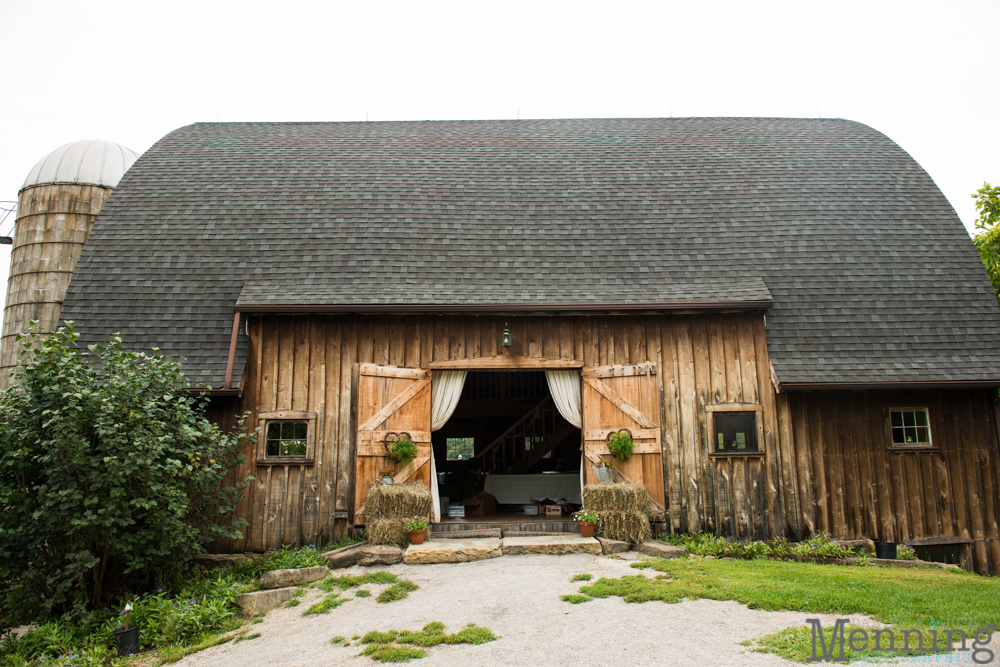 Snodes Restored Country Barn In Minerva Ohio Was The Site For Their Ceremony And Reception It Couldnt Have Been More Fitting