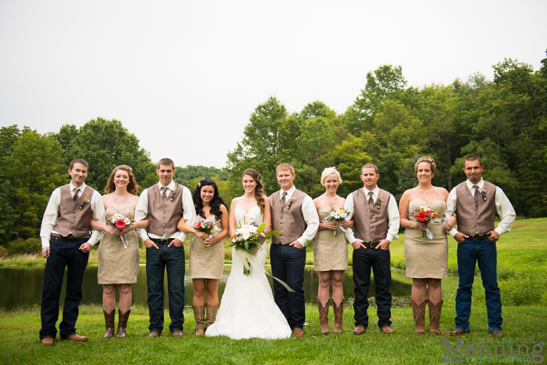 Bridal Party Fashion Of 2014 Youngstown Wedding
