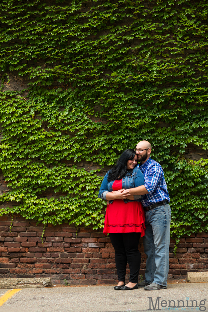 Richelle & Ryan - Downtown Pittsburgh - Roberto Clemente Bridge - PNC Park - North Shore - Heinz Pickle - Pittsburgh Engagement Session - Youngstown OH Photographers_0007