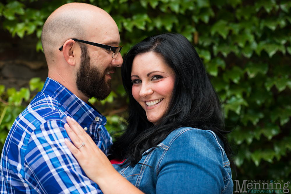 Richelle & Ryan - Downtown Pittsburgh - Roberto Clemente Bridge - PNC Park - North Shore - Heinz Pickle - Pittsburgh Engagement Session - Youngstown OH Photographers_0008
