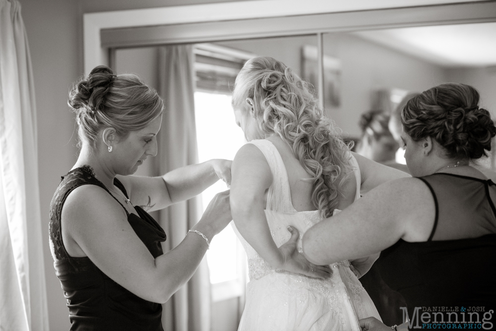 Kelly & Chris Wedding - Norman D Banquet Center - Youngstown, Ohio Wedding Photographers_0011
