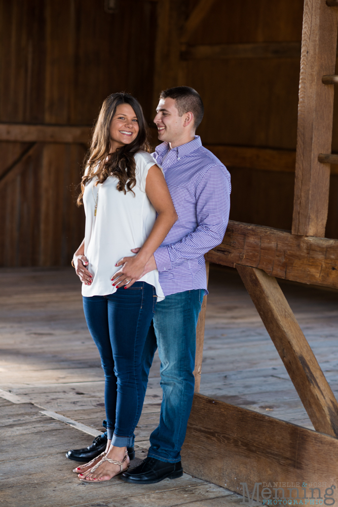 Kayla & Matt Engagement Session - The Links at Firestone Farms - Rustic-Country Engagement Photos - Youngstown, Ohio Photographers_0001