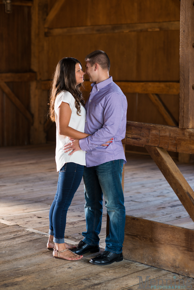 Kayla & Matt Engagement Session - The Links at Firestone Farms - Rustic-Country Engagement Photos - Youngstown, Ohio Photographers_0002