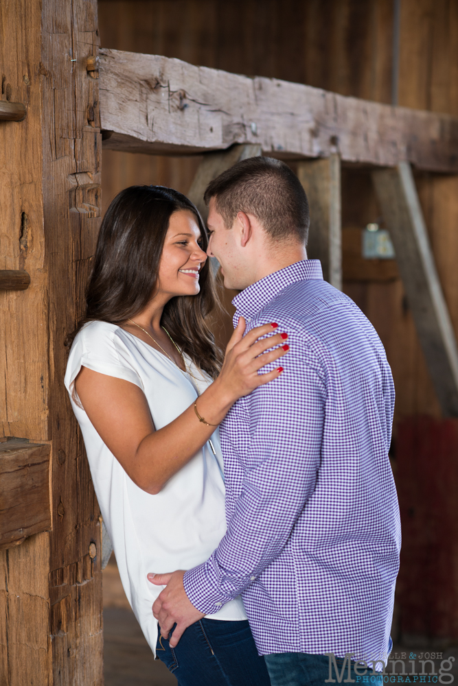 Kayla & Matt Engagement Session - The Links at Firestone Farms - Rustic-Country Engagement Photos - Youngstown, Ohio Photographers_0004