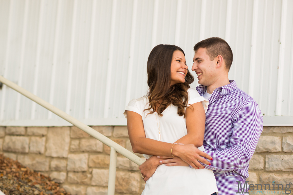 Kayla & Matt Engagement Session - The Links at Firestone Farms - Rustic-Country Engagement Photos - Youngstown, Ohio Photographers_0008