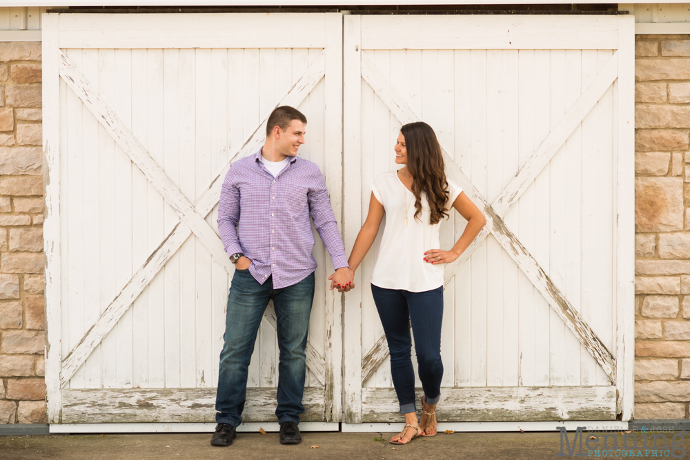 Kayla & Matt Engagement Session - The Links at Firestone Farms - Rustic-Country Engagement Photos - Youngstown, Ohio Photographers_0010
