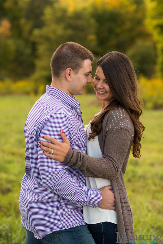 Kayla & Matt Engagement Session - The Links at Firestone Farms - Rustic-Country Engagement Photos - Youngstown, Ohio Photographers_0012