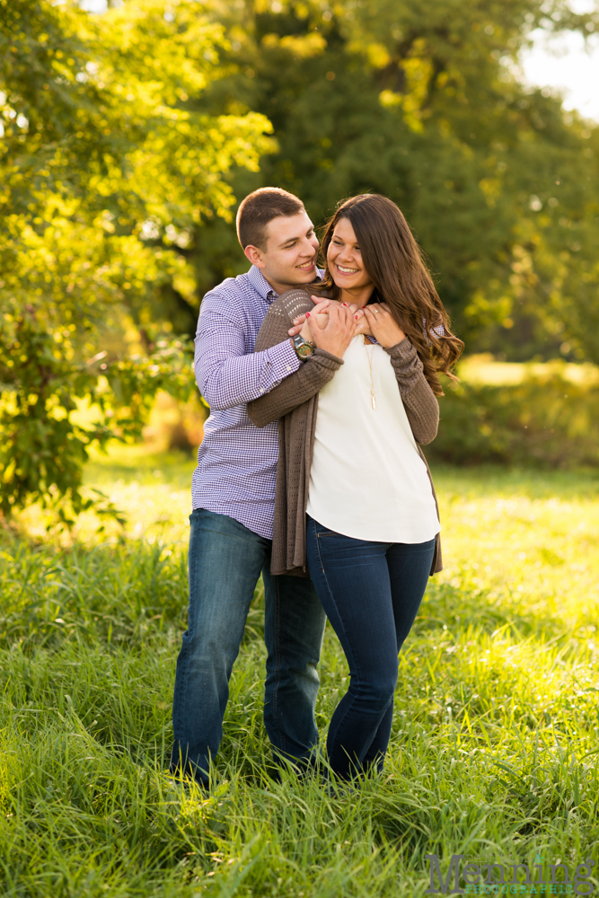 Kayla & Matt Engagement Session - The Links at Firestone Farms - Rustic-Country Engagement Photos - Youngstown, Ohio Photographers_0013