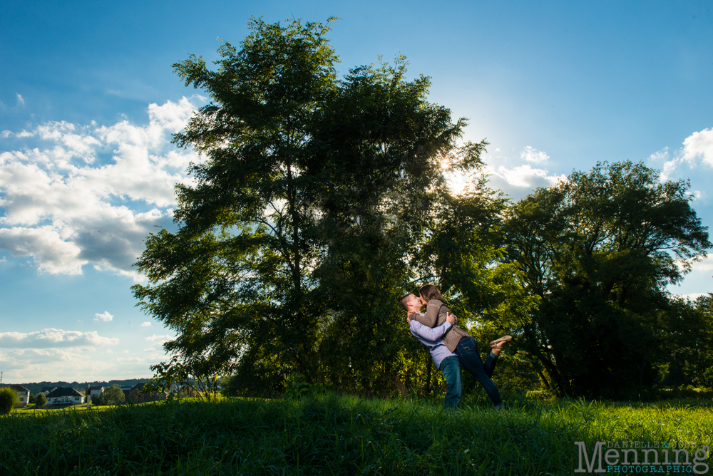 Kayla & Matt Engagement Session - The Links at Firestone Farms - Rustic-Country Engagement Photos - Youngstown, Ohio Photographers_0016