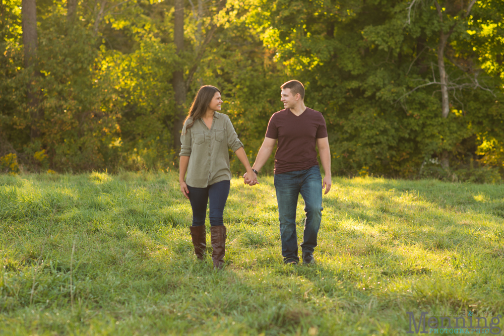 Kayla & Matt Engagement Session - The Links at Firestone Farms - Rustic-Country Engagement Photos - Youngstown, Ohio Photographers_0019