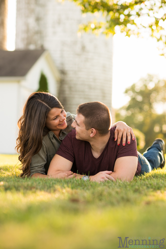 Kayla & Matt Engagement Session - The Links at Firestone Farms - Rustic-Country Engagement Photos - Youngstown, Ohio Photographers_0021