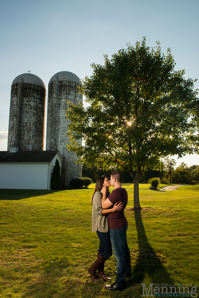 Kayla & Matt Engagement Session - The Links at Firestone Farms - Rustic-Country Engagement Photos - Youngstown, Ohio Photographers_0022