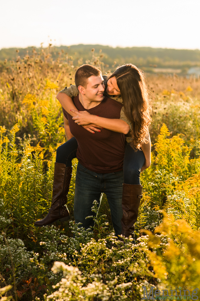 Kayla & Matt Engagement Session - The Links at Firestone Farms - Rustic-Country Engagement Photos - Youngstown, Ohio Photographers_0025