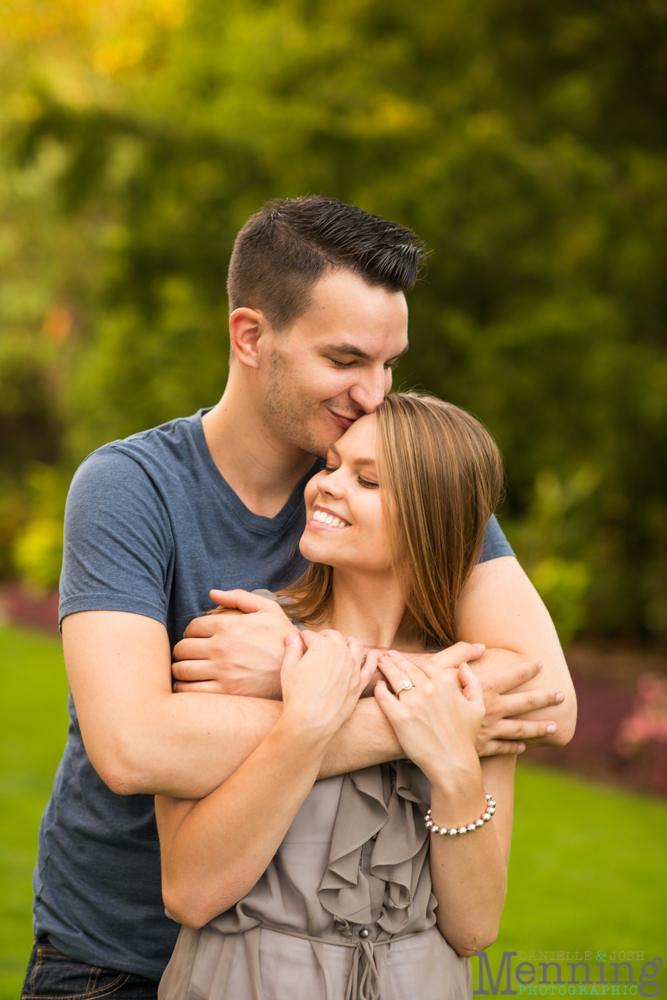 Mill Creek Park Youngstown engagement photos