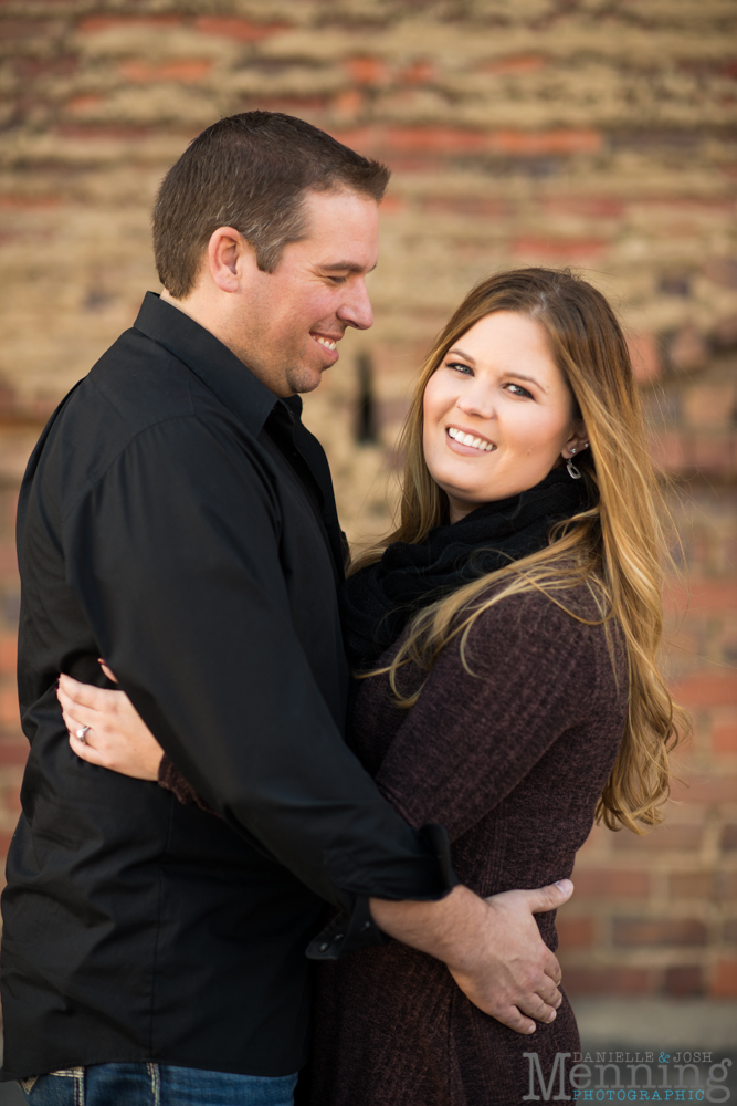 downtown Youngstown engagement session