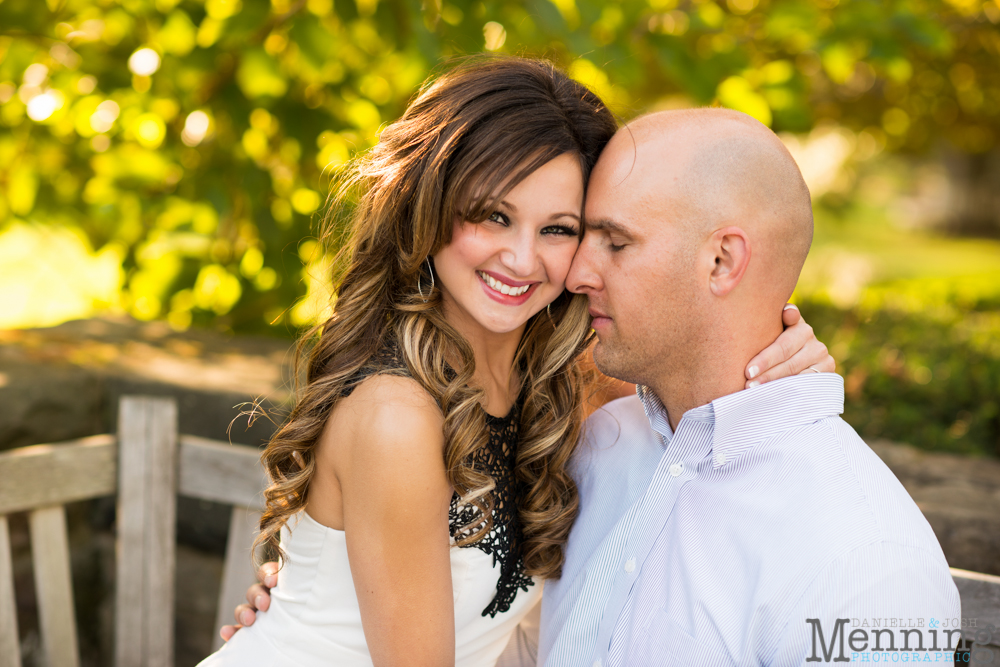 Mill Creek Park engagement photography