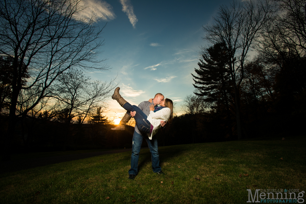 Sara & Aaron Engagement Session - Bethany College West Virginia - Old Main - Military Engagement Photos - Youngstown, Ohio Photographers_0037