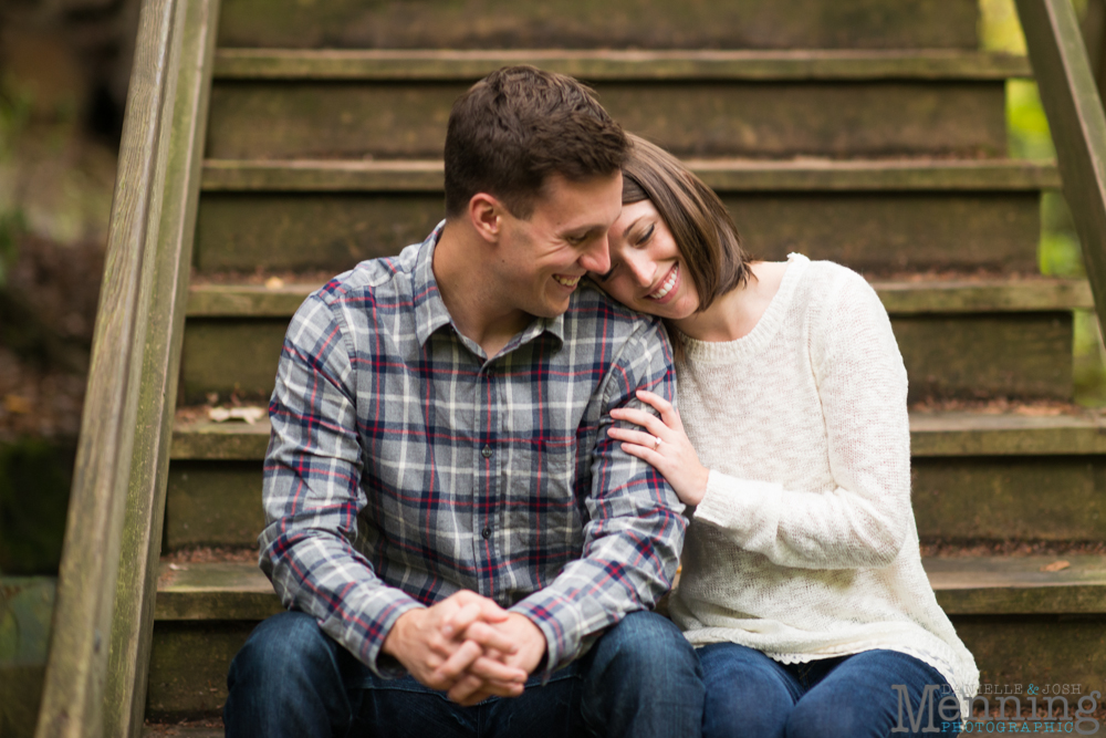 Youngstown engagement photography