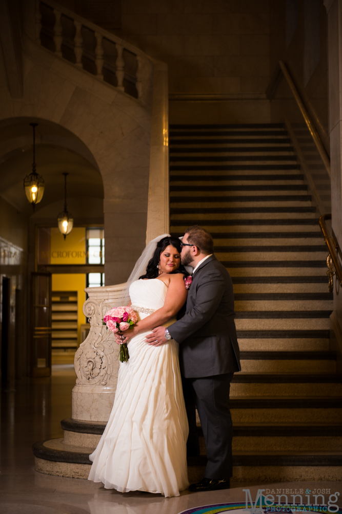 Cleveland Public Library wedding photos