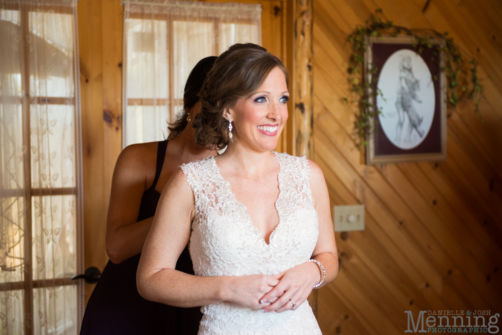 Ellen & Michael Wedding - The Gathering Place at Darlington Lake - Fall Wedding Photos - Youngstown, Ohio Wedding Photographers_0015