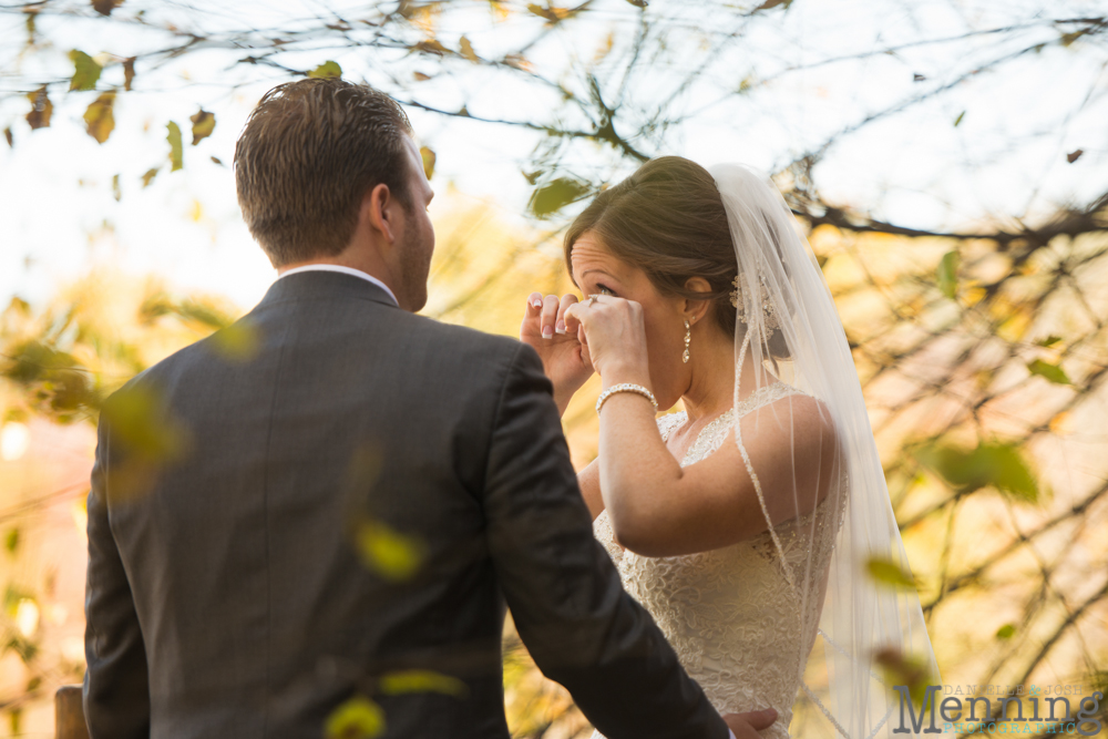 Ellen & Michael Wedding - The Gathering Place at Darlington Lake - Fall Wedding Photos - Youngstown, Ohio Wedding Photographers_0033