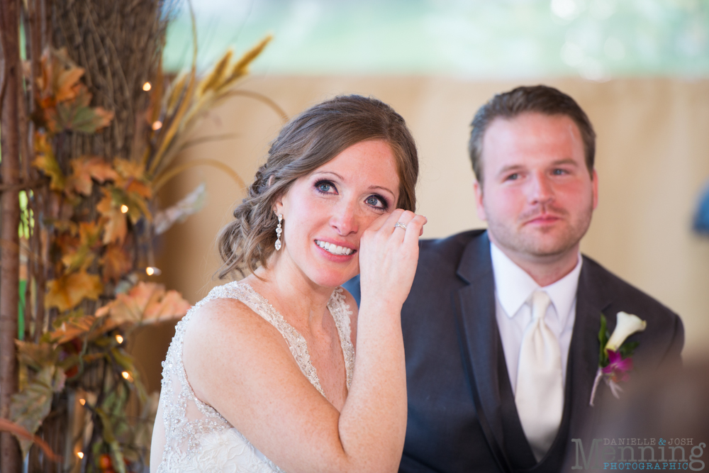 Ellen & Michael Wedding - The Gathering Place at Darlington Lake - Fall Wedding Photos - Youngstown, Ohio Wedding Photographers_0081