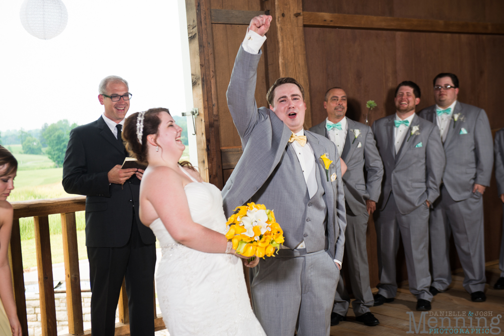 Keri & Shawn - The Links at Firestone Farms - Barn Wedding - Youngstown OH Wedding Photographers_0060