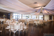 wedding reception at The lake Club