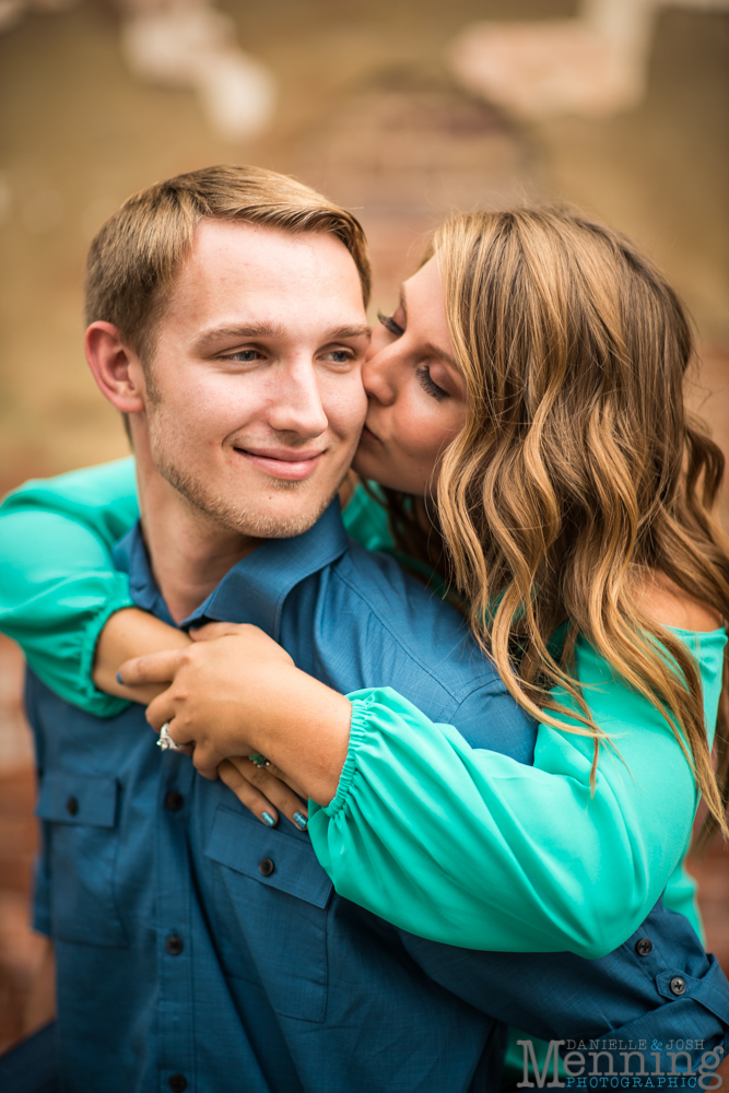 Brittany & Adam Engagement Session | Fellows Riverside Gardens | Downtown  Youngstown | Youngstown, Ohio Photographers | Menning Photographic