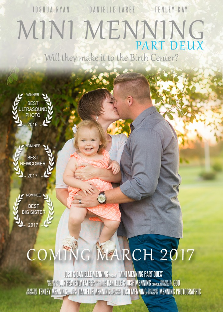 movie poster pregnancy announcement
