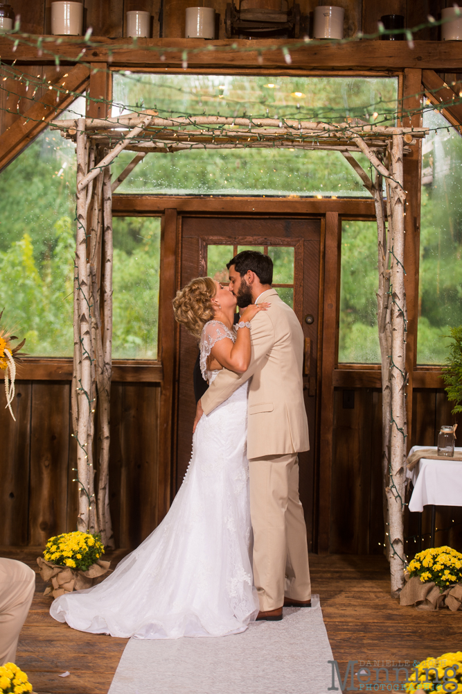 wedding photography at The Barn & Gazebo Salem Ohio
