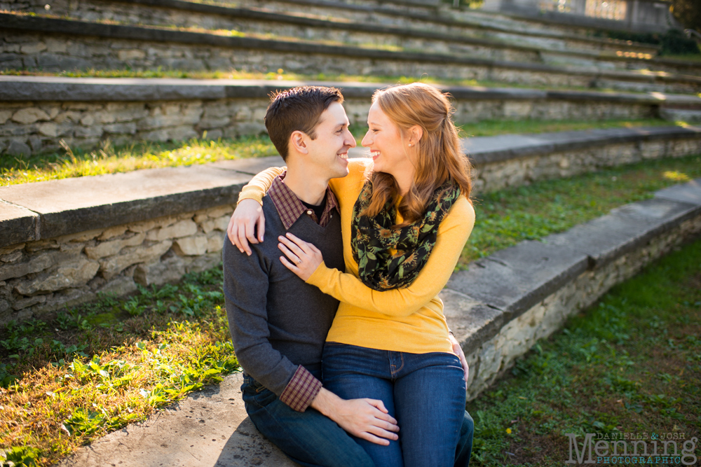 Columbus engagement session