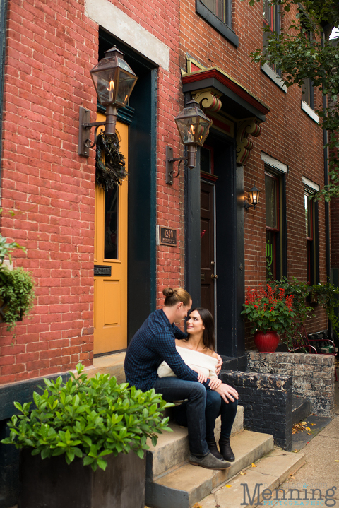Pittsburgh Engagement Photos Mexican War Streets
