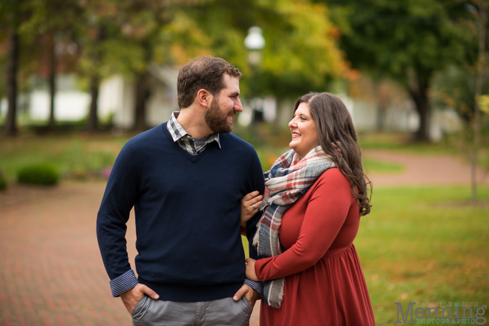 Canfield engagement photos