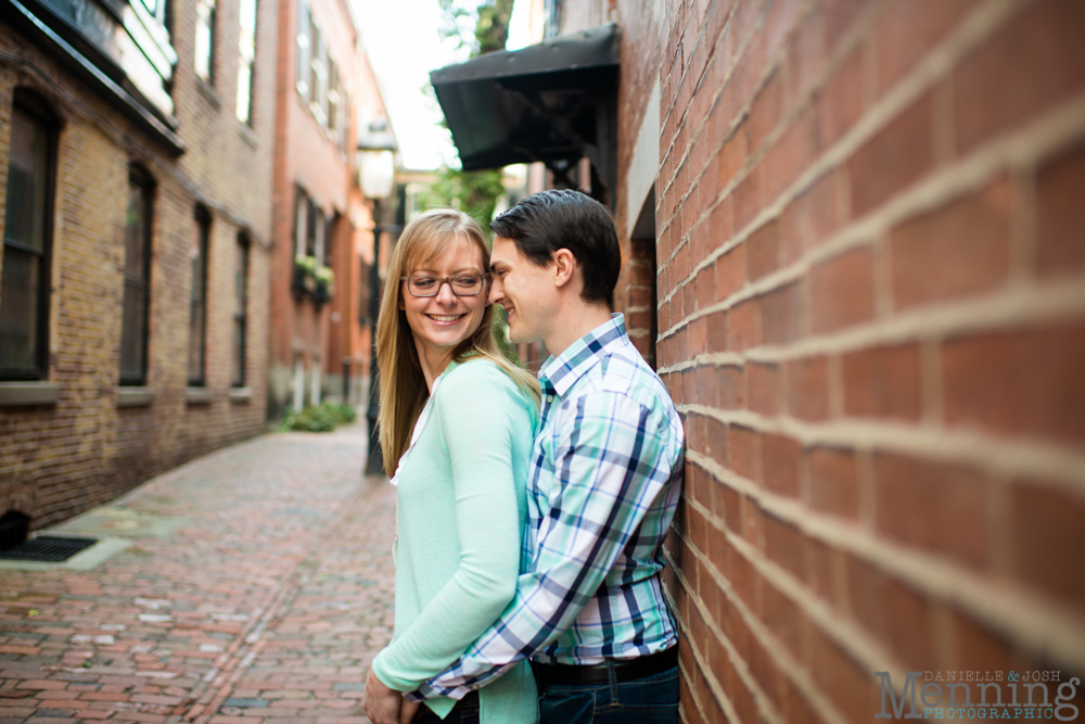 √Youngstown engagement photos