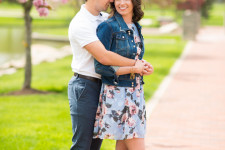 Mount Union University engagement photos