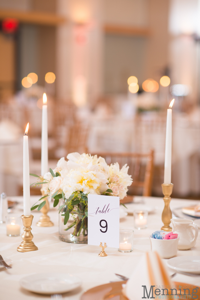 classic ivory and gold wedding