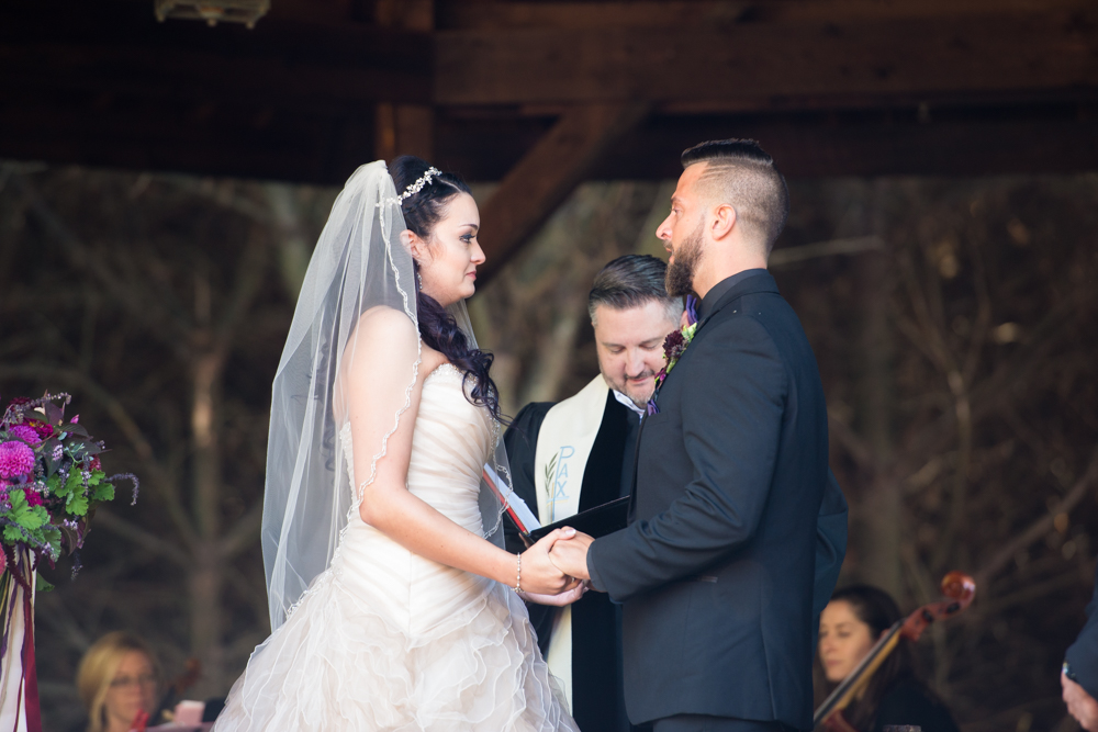 salem barn and gazebo wedding