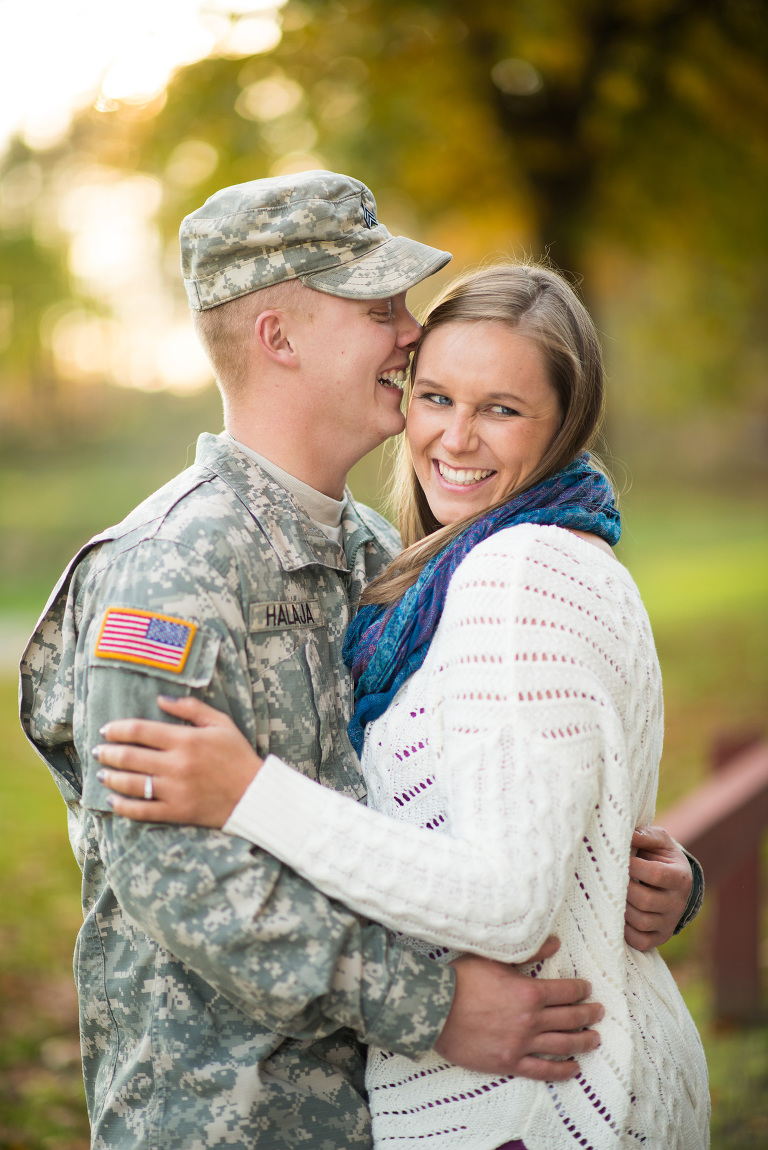 Sara_Aaron_0165 Engagement Session - Military - Youngstown, Ohio Photographers
